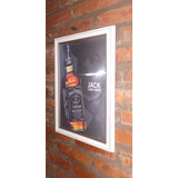 Cuadro Tridimensional Whisky Jack Danields
