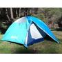 Carpa Telken Campinox+3/4 Personas+rosario+camping+mochilero