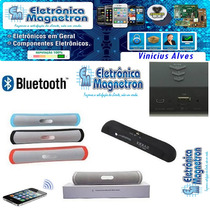 Caixa Som Portátil Bluetooth Android E I.o.s Usb Mp3 Sd.
