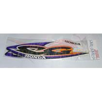 Jogo Kit Adesivos Cg Titan 125 2000 Ks Prata - Lb00615