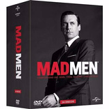 Mad Men - 1ª A 6ª Temporadas - 24 Dvds - Original E Lacrado