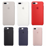 Capa Iphone 7 Plus Case Silicone, Logo Apple, Qualidade 100%