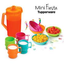 Tupperware Juguete Para Niña Incluye Los Vasitos Y Jarrita