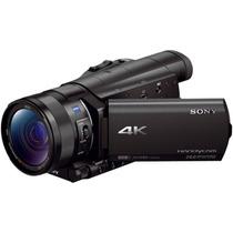 Sony Fdr-ax100/b Filmadora 4k/30p Full Hd Lacrada - Garantia