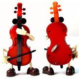 Violino Musical De Brinquedo Com De Corda