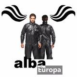 Capa Chuva Motoqueiro Alba Europa Preto Todos Tamanhos
