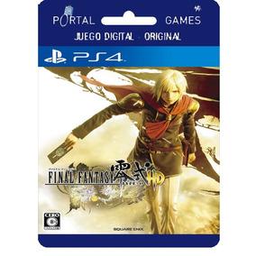 Final Fantasy Type 0 Digital Ps4 ** Portal Games **