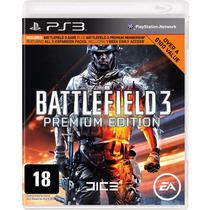 Jogo Mídia Física Battlefield 3 Premium Edition Para Ps3