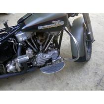 Harley Davidson Police 1200 Flh 1964 Restaurada No Carcacha.