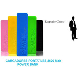 Power Bank 2600 Mah Cargador Portatil