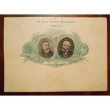 Tarjeta Antigua Entero Postal Argentina Año 1900