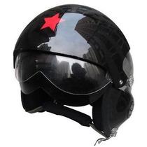 Capacete Helmet Jet Pilot Piloto Caça Jato Harley Davidson