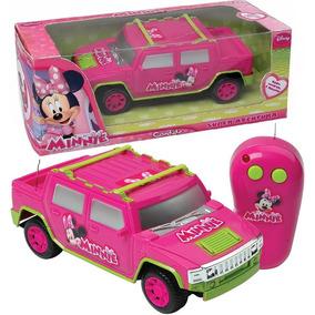 Carro De Controle Remoto Minnie Disney Menina - Rosa