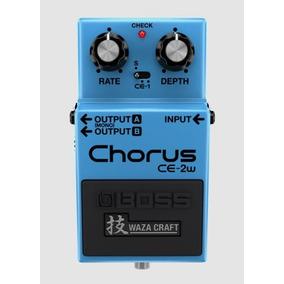 Pedal Guitarra Boss Ce-2w Chorus Waza Craft Edição Especial