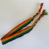Pulseira Tornozeleira Reggae Bob Marley Jamaica Unissex