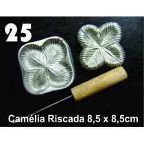 Frisador De Flores Eva Camelia Riscada 8,5 X 8,5 Cm