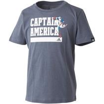Playera Avengers Capitan America Bebe Adidas Ay4947