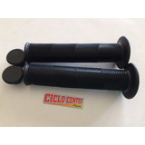 Manopla High One Bmx 145mm Preta Com Flange