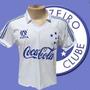 Camisa Cruzeiro Retro 1990 Retrospectiva Retro Fint Cocacola
