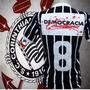 Corinthians Retro 1982 Democracia Corinthiana Sócrates Preta