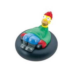 Simpsons Homero Simpson Winter Aventures Burger King 2012