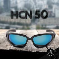 Óculos De Sol Spy Original - Modelo Hcn 50 Preto Lente Azul