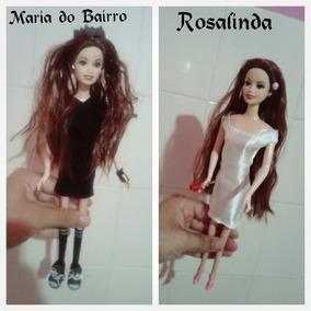 Bonecas Thalia, Mª Mercedes, Do Bairro, Marimar E Rosalinda.