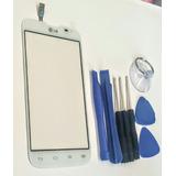 Touch Lg L70 Dual D321 D325 Doble Chip Blanco +kit +envío