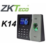 Control Asistencia Zkteco Zksoftware K14 500 Huella Tcp Red