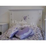 Cama 1 Plaza Laqueada Infantil Juvenil Claudia Muebles