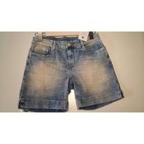 Nova Coleção Plus Size Shorts Jeans Bermuda Azul Clara