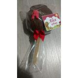 Maça Do Amor De Chocolate Quantidade Minima 15 Unidades
