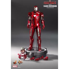 Iron Man 3 Silver Centurion Hot Toys Homem Ferro