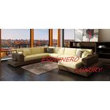 Esquinero Luxury 4 Modulos Movibles+4deco,chenille O Pana!!