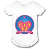 Body Personalizado Feliz Dia Das Mães Unisex 4