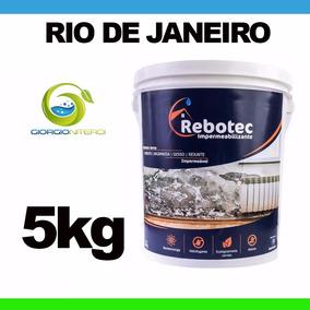 Rebotec 5000gr Solução Para Lajes Trincas Reboco Tijolo Rj