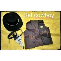 Disfraz Set Cowboy Toy Story Woody Disney Souvenir Regalo