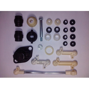 Kit Buchas Do Trambulador Completo C/ Haste - Golf 94 A 98