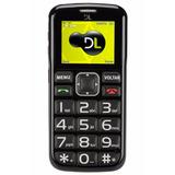 Celular P/ Idoso Tecla Sos E N° Grandes Dual Yc110 Lacrado