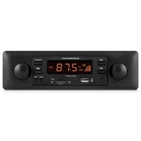 Radio Powerpack Tcsd2316 Mp3 Player Sd/usb Azul E Laranja