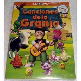 Canciones De La Granja 2 Cd + Dvd Sellado