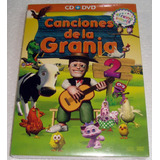 Canciones De La Granja 2 Cd + Dvd Sellado