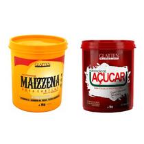 Kit Glatten Maizzena Capilar 1kg + Máscara De Açucar 1kg