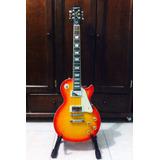 Guitarra Epiphone Les Paul Ultra Iii Seminueva Cherryburst
