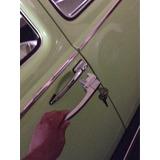 Accesorio Manijas Puerta Boton Cuadrado Vocho 1960-1971