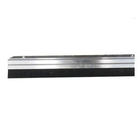 Veda Porta Rodo De Porta Friso Aluminio 80cm Completo
