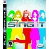 Disney Sing It Ps3 Nuevo Ei