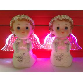 Angel Souvenir Bautismo/comunión Centro De Mesa
