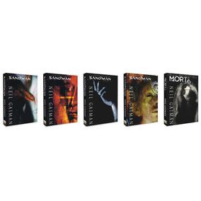 5 Caixas Para Sandman - Boxes Para As Edições De 1 A 5