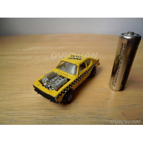 Carro Escala Maxi Taxi Matchbox Rolamatics 1973 Lesney Ce76